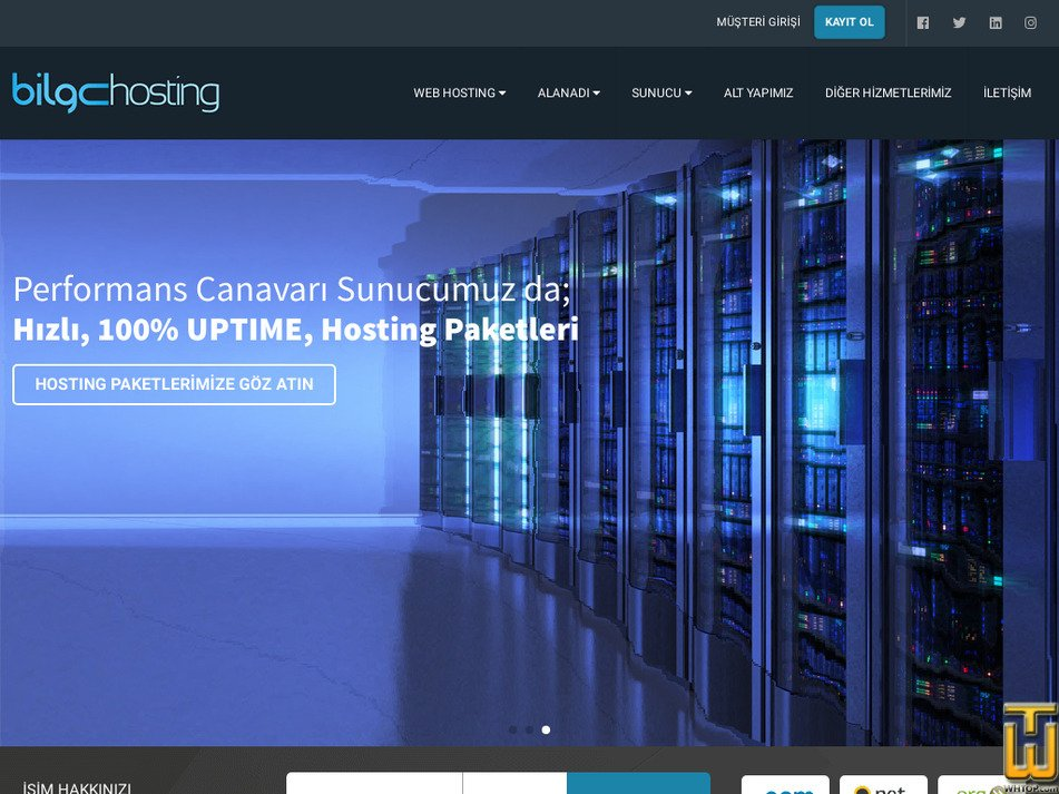 bilgehosting.com Screenshot