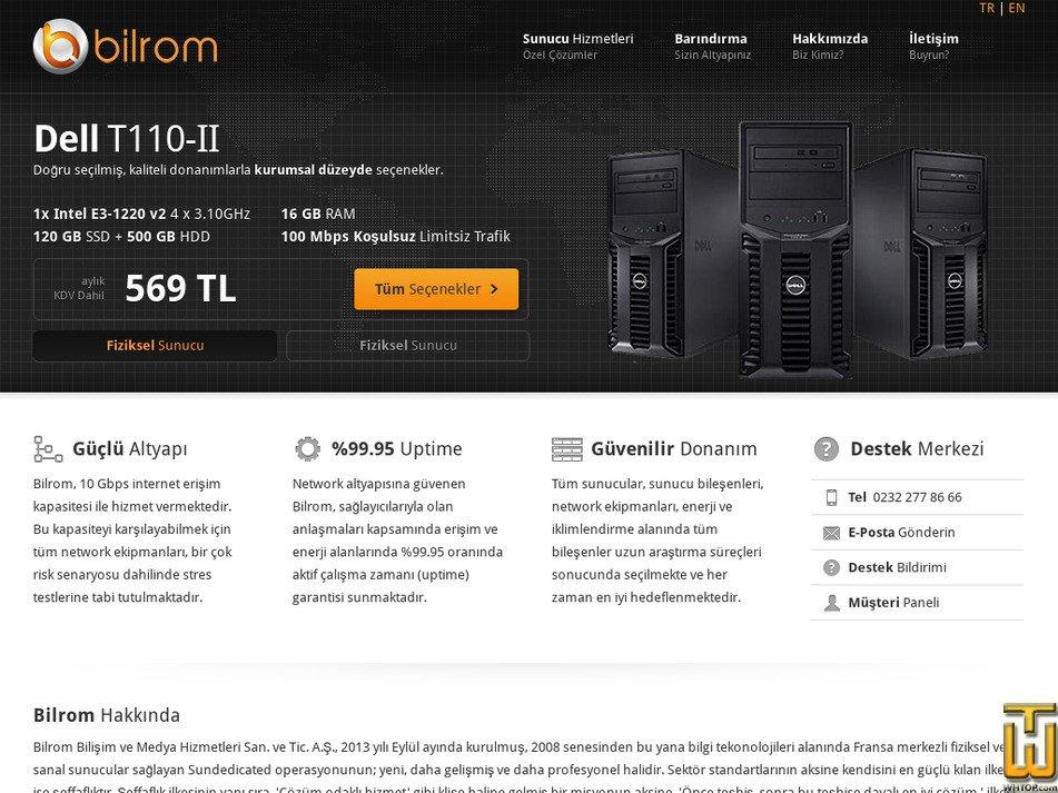 bilrom.com Screenshot