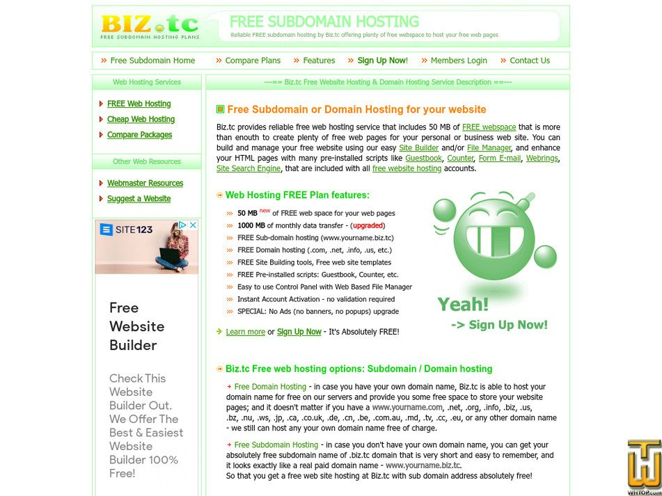 biz.tc Screenshot