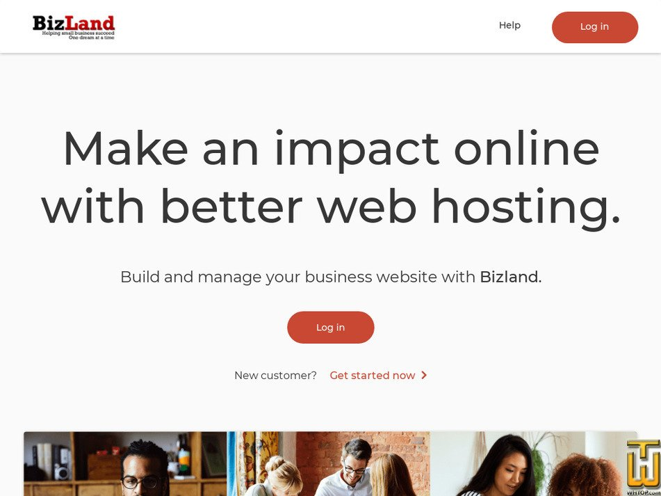 bizland.com Screenshot