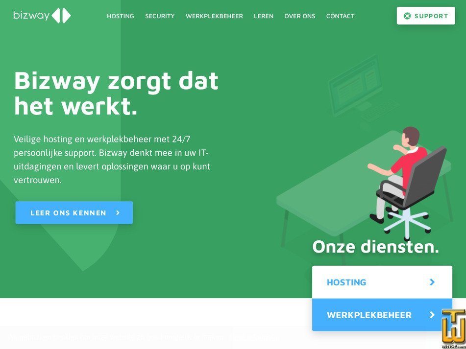 bizway.nl Screenshot