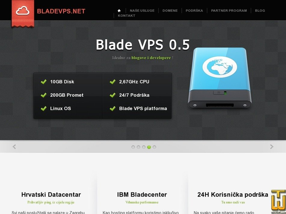 bladevps.net Screenshot