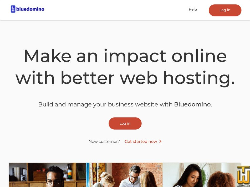 bluedomino.com Screenshot