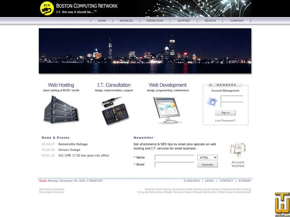 bostoncomputing.net Screenshot