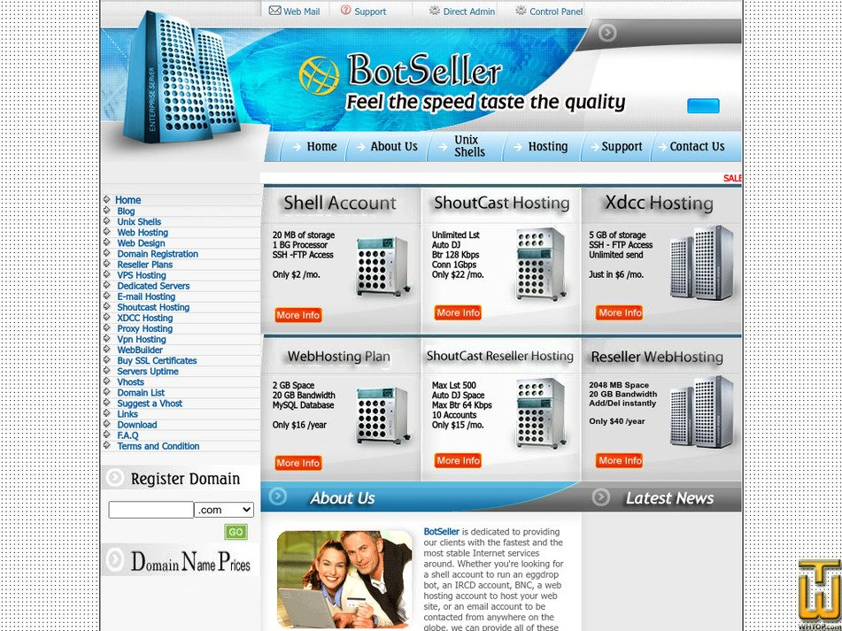 botseller.net Screenshot