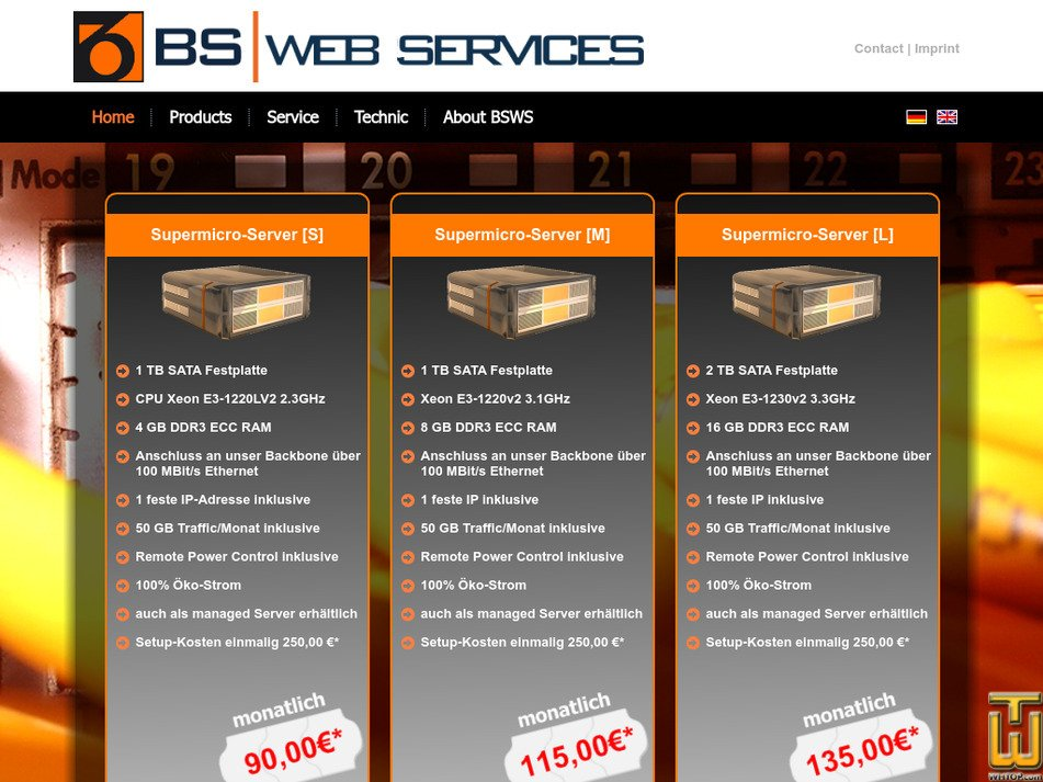 bsws.de Screenshot