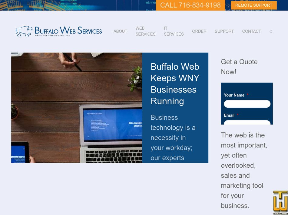buffaloweb.com Screenshot