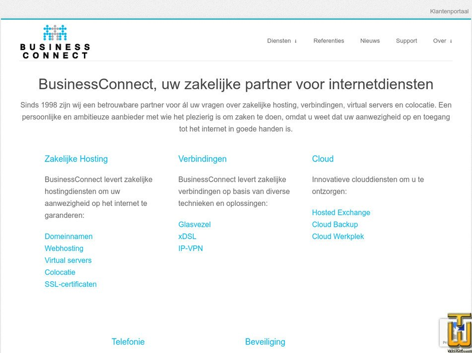 businessconnect.nl Screenshot