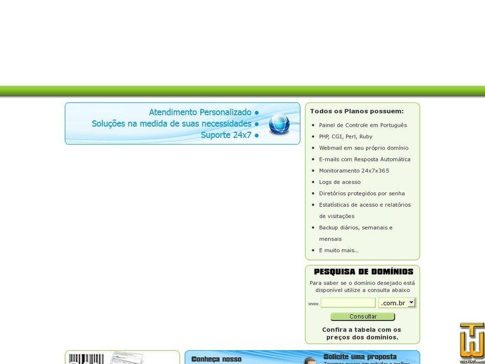 businesshost.com.br Screenshot