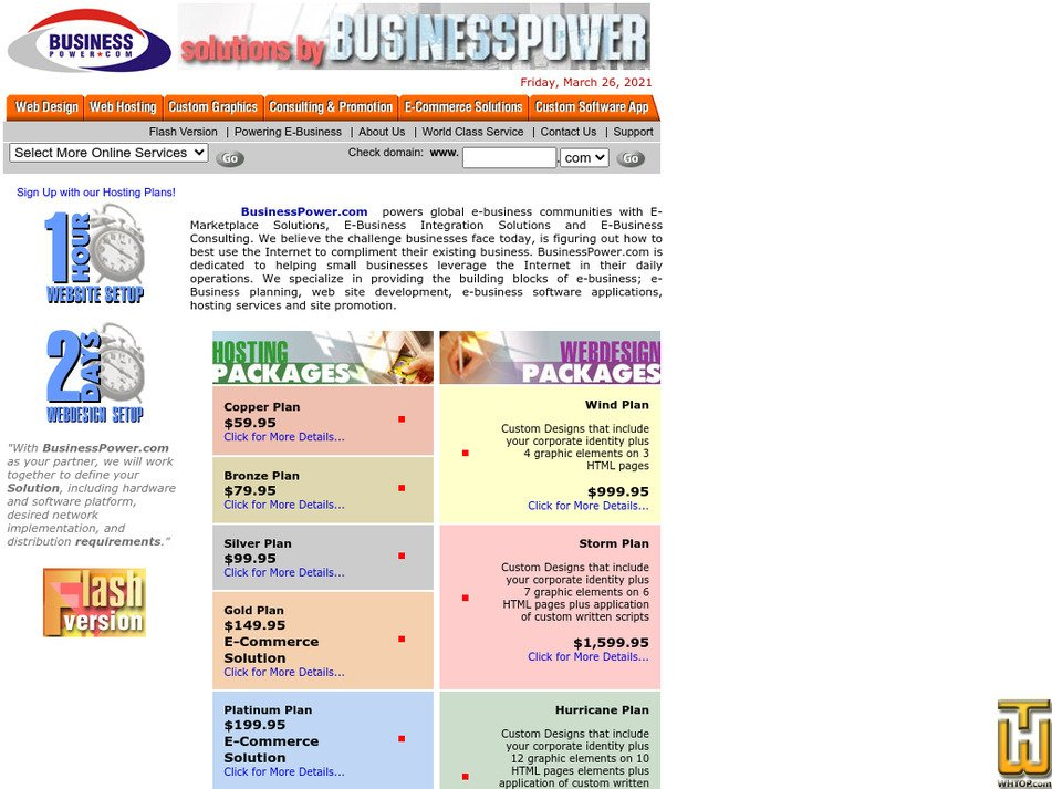 businesspower.com Screenshot