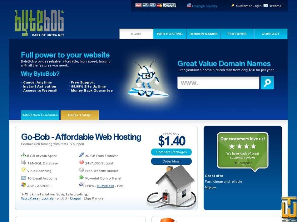 bytebob.com Screenshot
