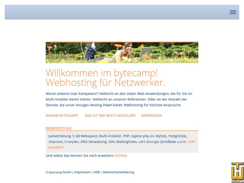 bytecamp.net Screenshot
