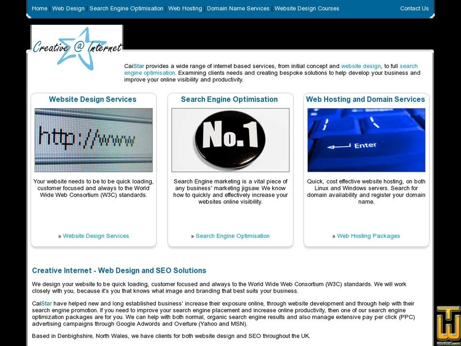 caistar.com Screenshot