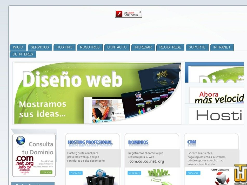calihosting.com Screenshot