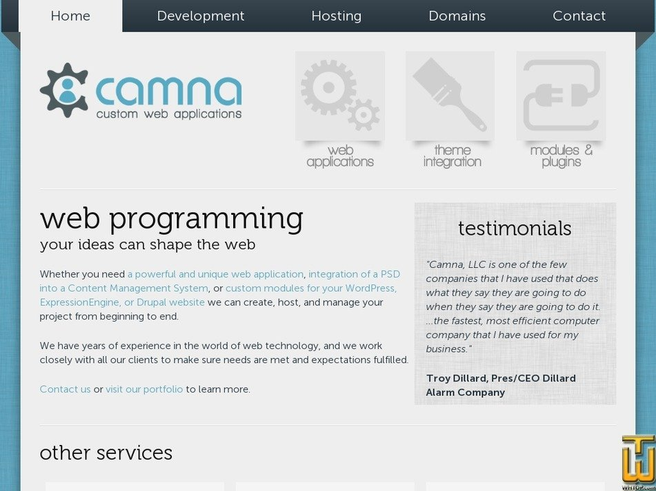 camna.com Screenshot