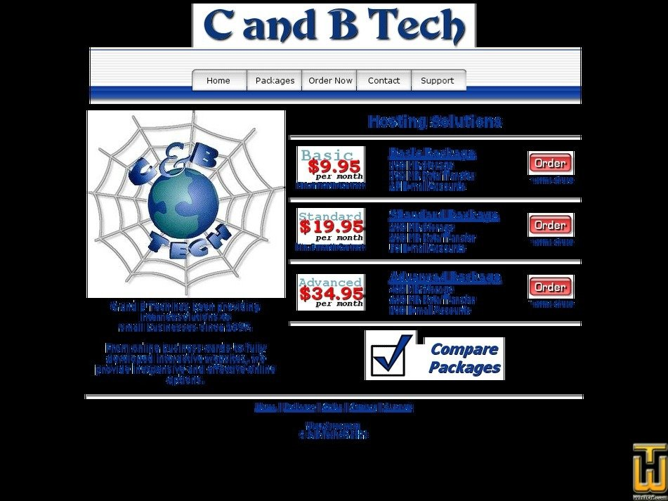 candbtech.net Screenshot