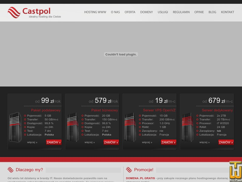 castpol.pl Screenshot