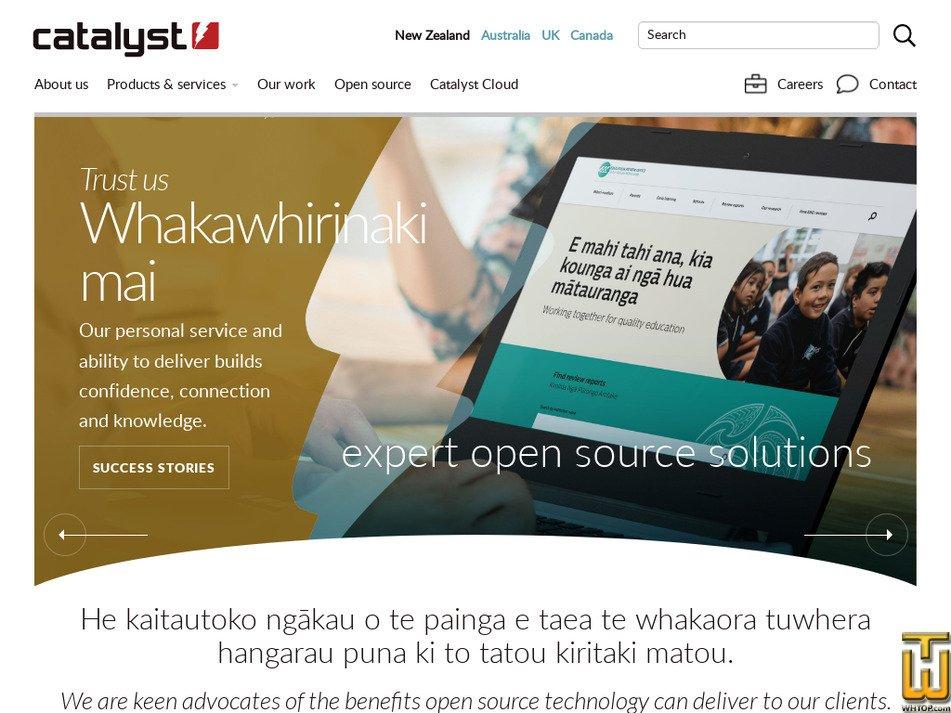 catalyst.net.nz Screenshot