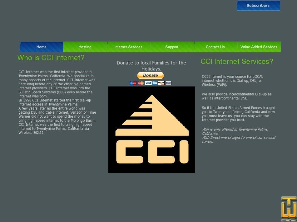 cciinter.net Screenshot