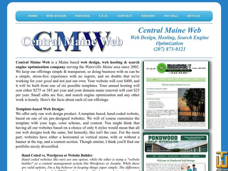 centralmaineweb.com Screenshot