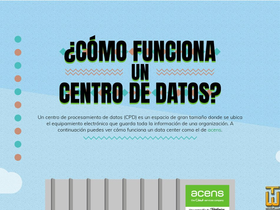 centrodedatos.com Screenshot