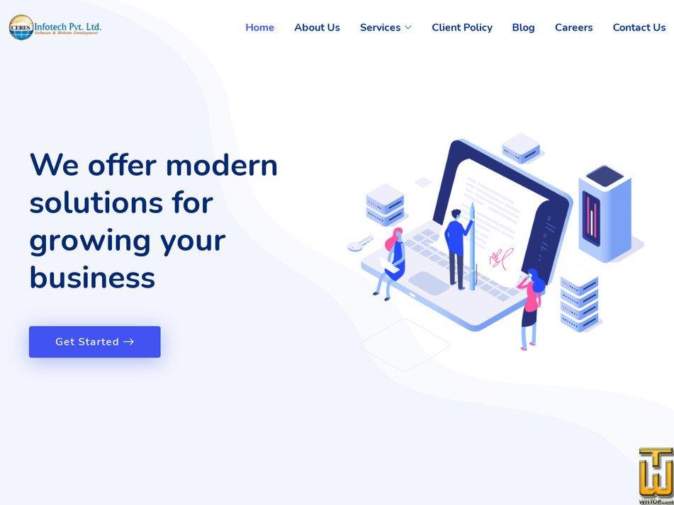 ceresinfotech.com Screenshot