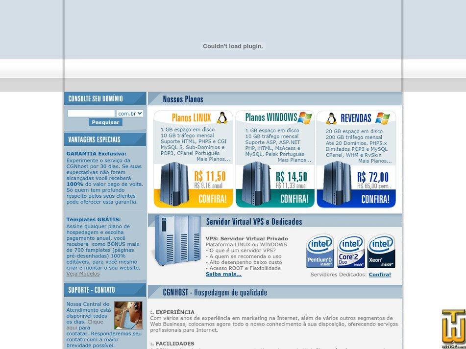 cgnhost.com Screenshot