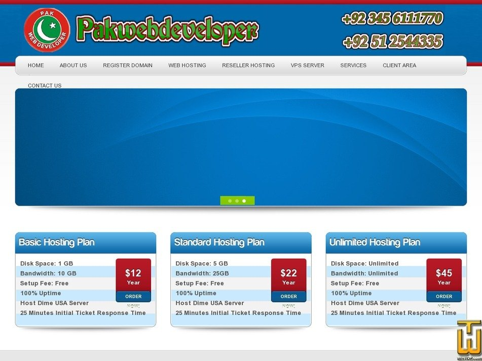 cheaphosting.com.pk Screenshot