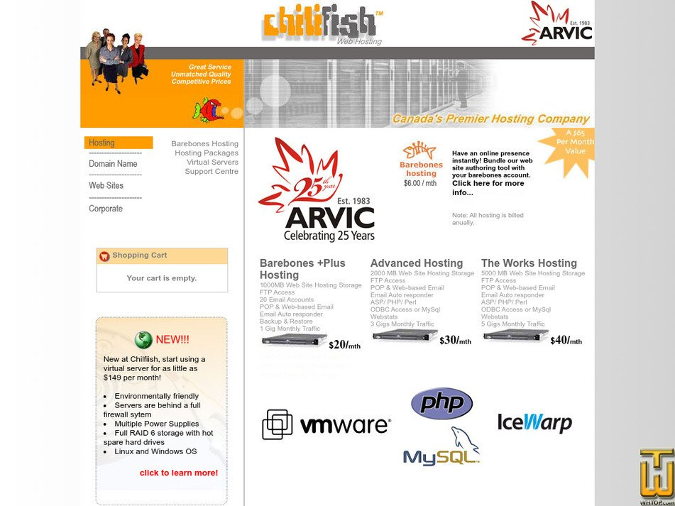 chilifish.com Screenshot