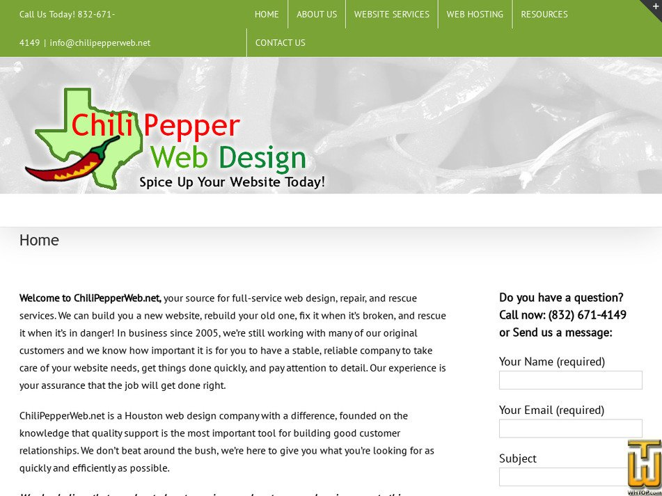chilipepperweb.net Screenshot