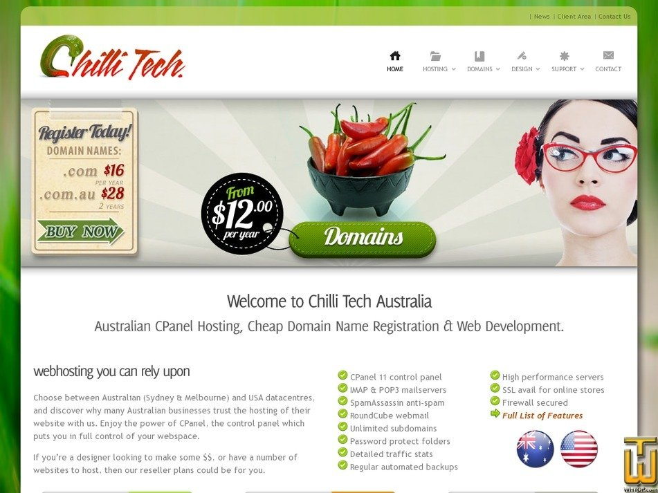 chillitech.com.au Screenshot