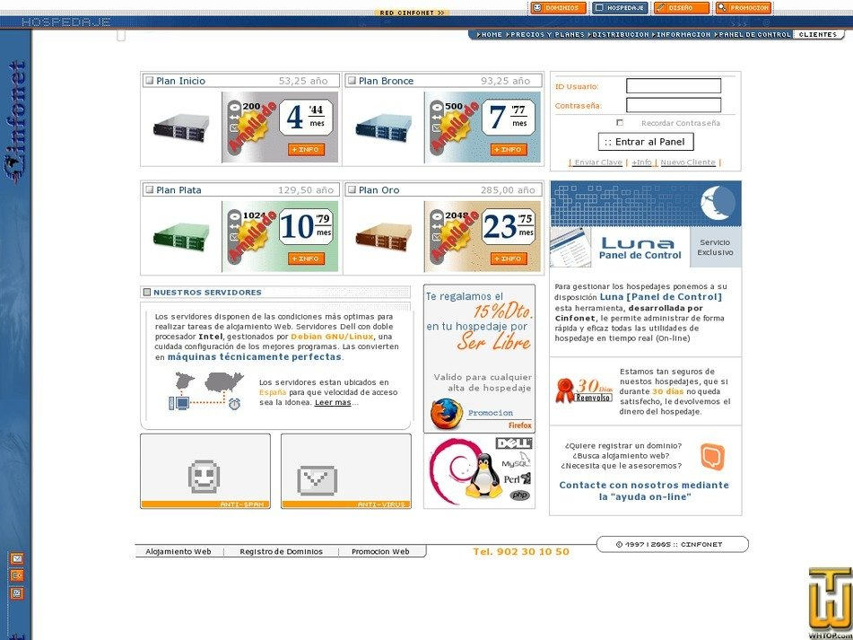 cinfonet.com Screenshot