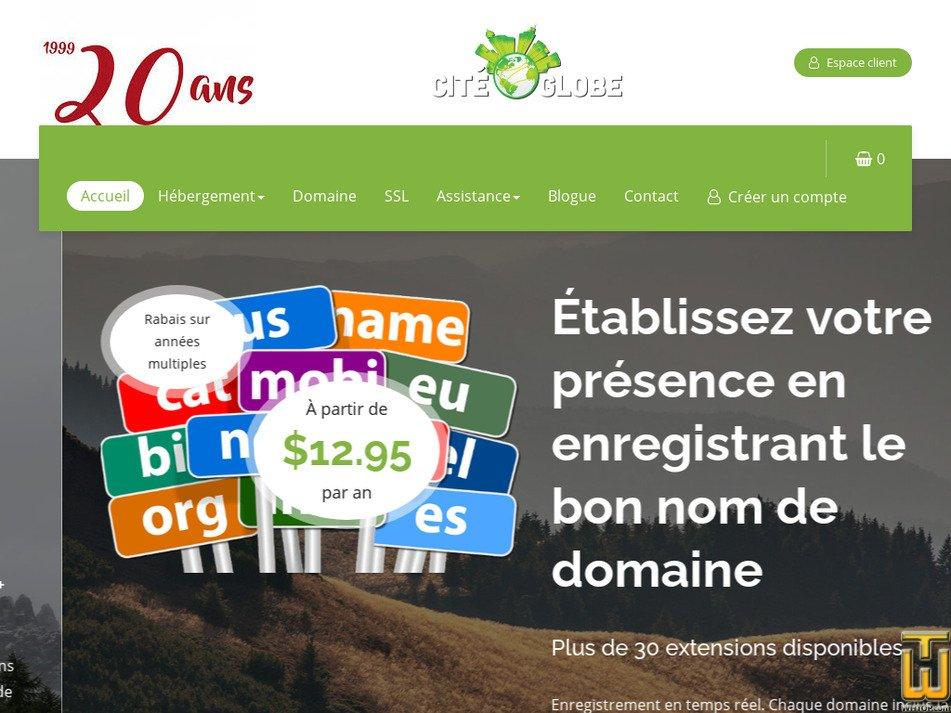 citeglobe.ca Screenshot