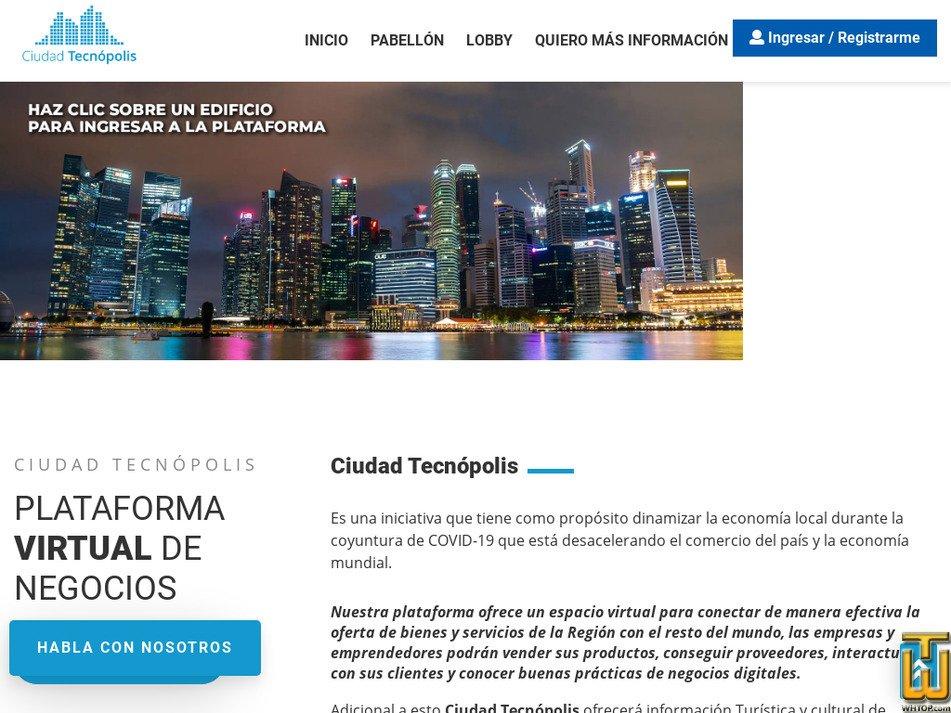 ciudadtecnopolis.com Screenshot