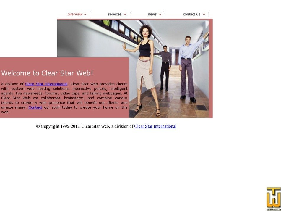 clearstarweb.com Screenshot