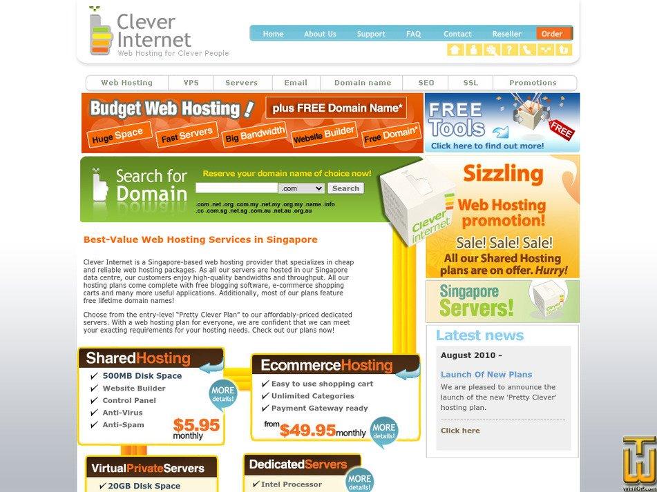 clever.com.sg Screenshot
