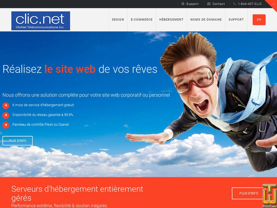 clic.net Screenshot
