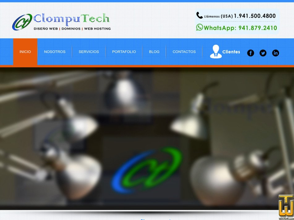 clomputech.com Screenshot