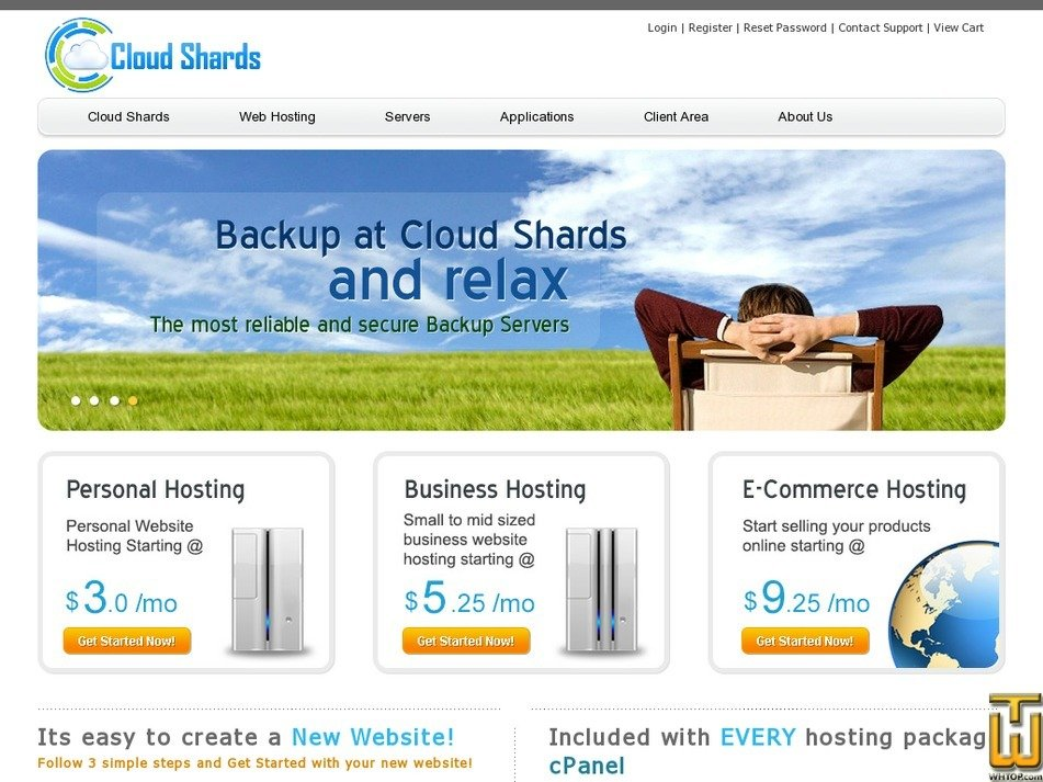 cloudshards.com Screenshot