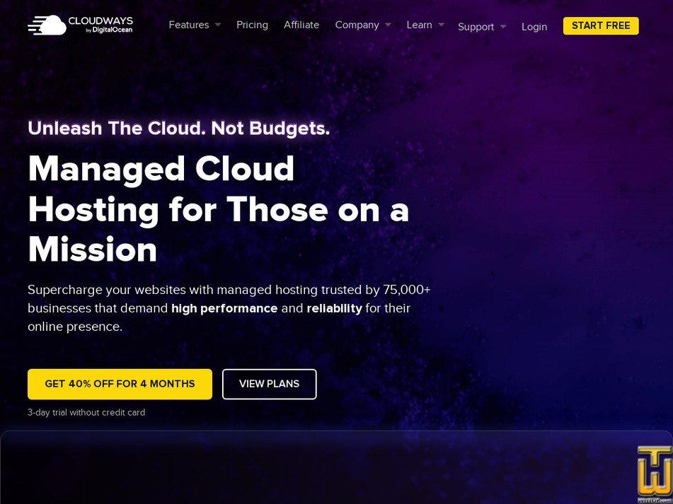 cloudways.com Screenshot