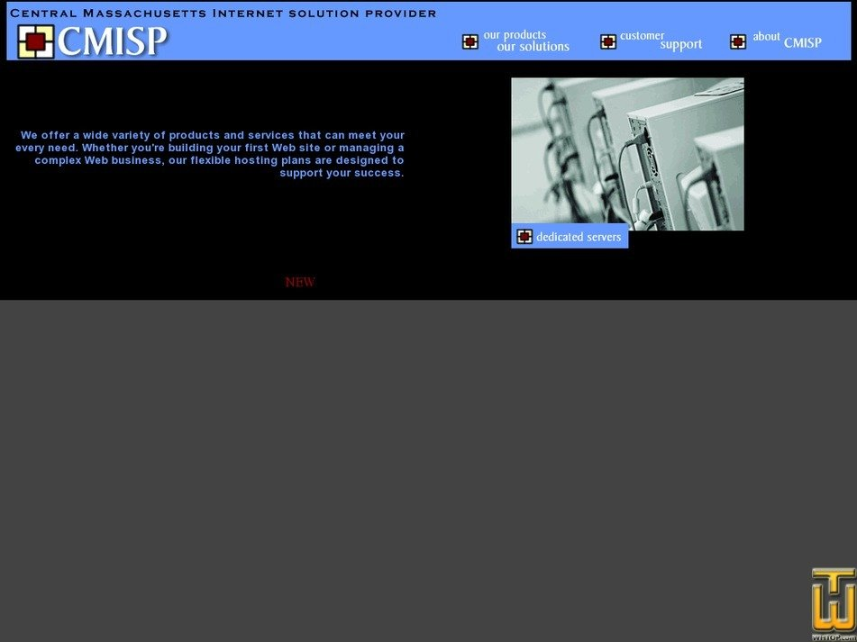 cmisp.com Screenshot