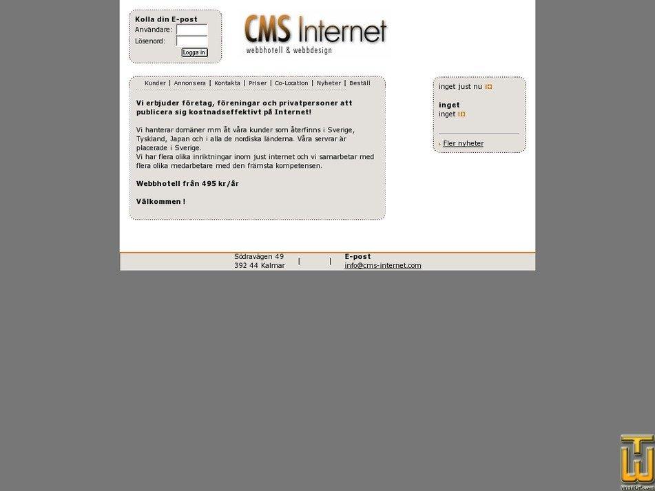 cms-internet.com Screenshot