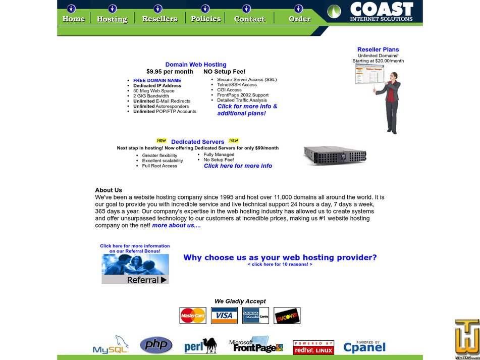 coastinc.com Screenshot