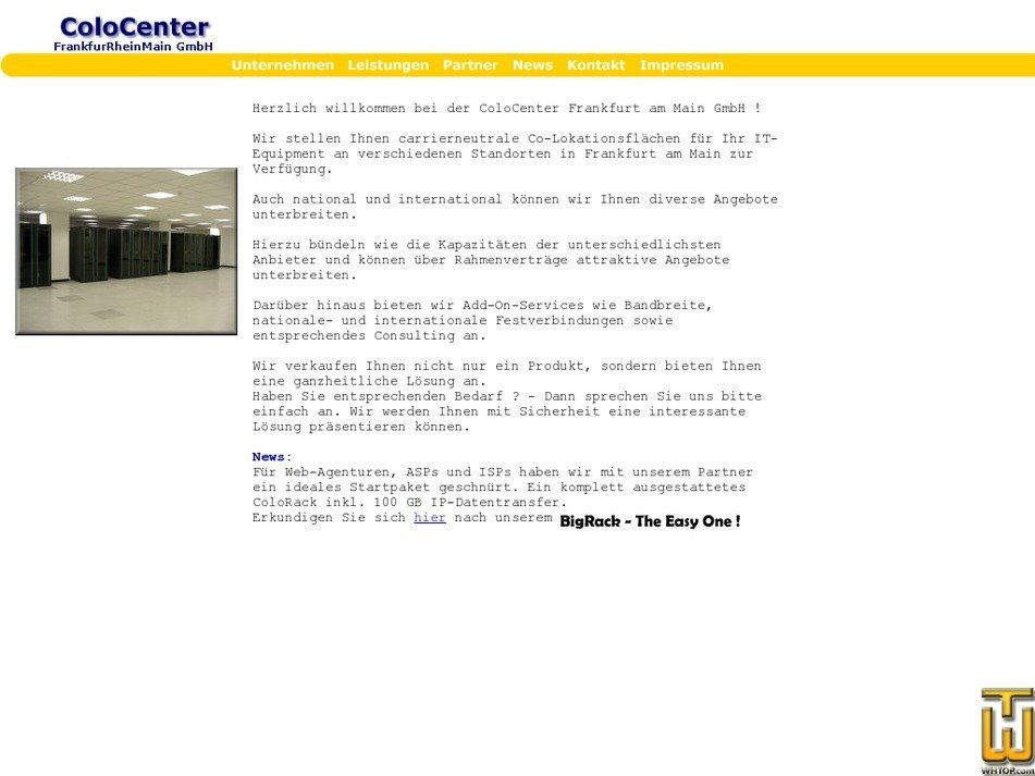 colocenter.de Screenshot