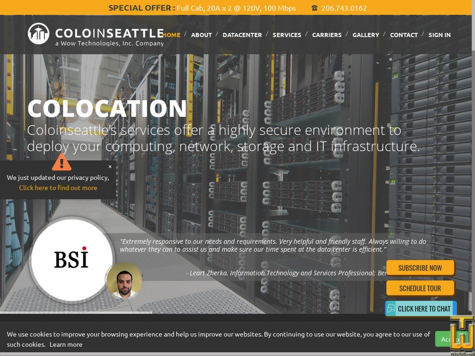 coloinseattle.com Screenshot