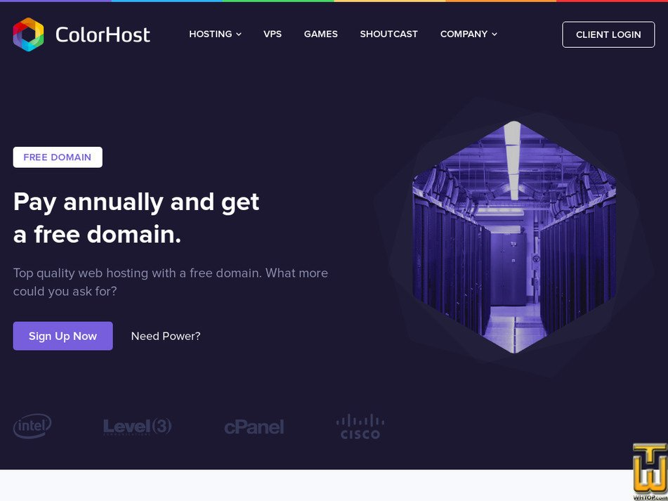 colorhost.co Screenshot