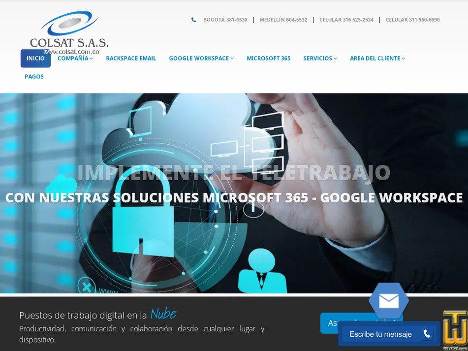 colsat.com.co Screenshot
