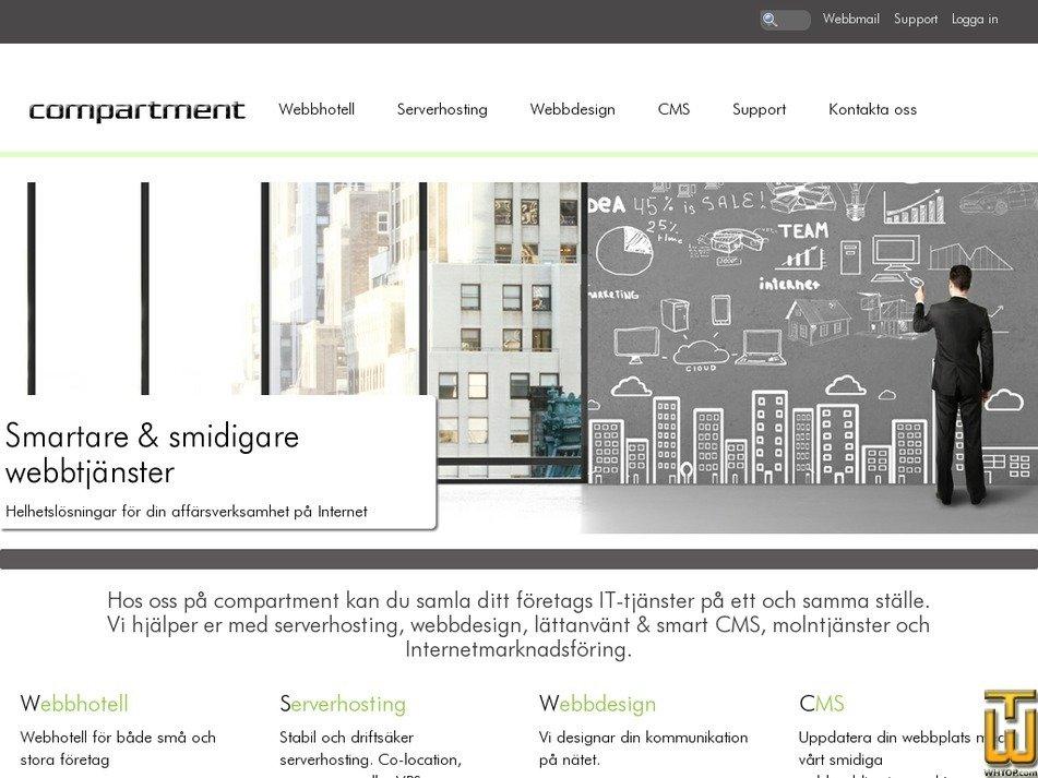 compartment.se Screenshot