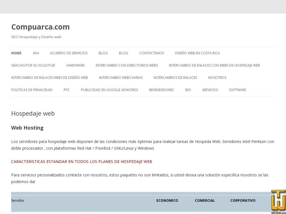 compuarca.com Screenshot