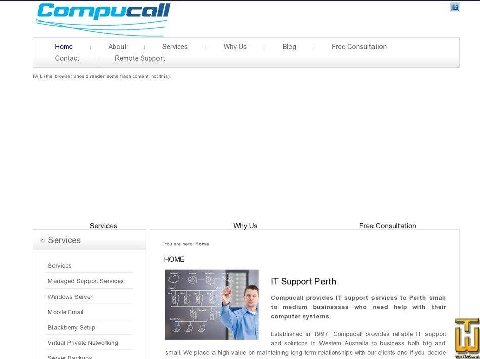 compucall.com.au Screenshot